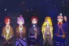 Nagato, Konan, Sasori, Deidara and Obito Naruto Uzumaki, Anime Naruto, Sasori And Deidara, Comic Naruto, Deidara Akatsuki, Konan, Naruto Shippudden, Naruto Cute, Naruto Funny