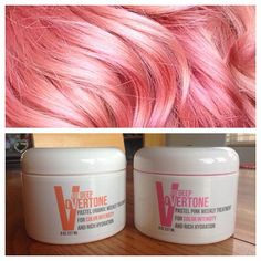 I've got nothing but mad love for @overtonecolor  My cotton candy concoction is…