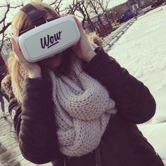 An awesome Virtual Reality pic! WOW is breaking the ice. #iceskating #wow #ijsbaan #amsterdam #icerink #virtualreality #gogetwow #rdesign #vrglasses #vrbril by gogetwow check us out: http://bit.ly/1KyLetq