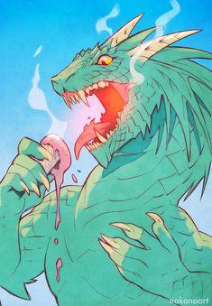 Cool Dragon - Spitpaint 30 minutes