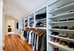 Master suite addition traditional-closet