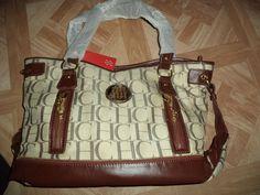 Womens NWT Brown XLarge Shoulder Bag /Purse #ch #ShoulderBag