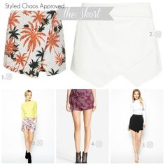 Chrissi Shields: Press Rewind: The Skort is Back! Say What? Spring Approved Trend: The Skort