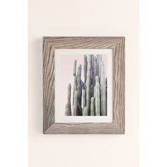 Wilder California Summer Cactus Art Print ($19) ❤ liked on Polyvore featuring home, home decor, wall art and buff barnwood