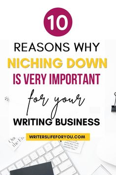 Are you starting out as a freelance writer or even as a blogger? Here are the important reasons why you should niche down before you go further. This guide will also show you how to choose a profitable niche that will make you lots of money from home. | How to choose a profitable freelance writing niche| profitable freelance writing niche ideas| how to choose profitable blogging niches that make money #freelancewritingniche #howtochooseaprofitableniche Writing Advice, Creating A Blog, Seo Tips, Business Advice, Make More Money, Good Advice, Understanding Yourself, Helpful Hints, Blogging