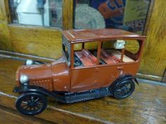 Vintage Ford 1915 Tin Toy Car | eBay