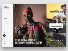 UI Inspiration: The Work of Tony DeAngelo at ANML | Abduzeedo Design Inspiration
