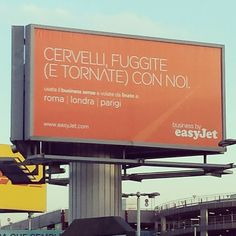 Geniale messaggio marketing!