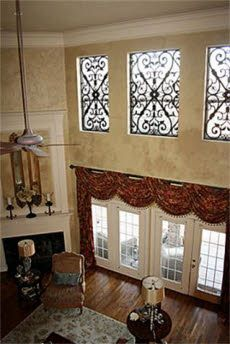 Curtains For Two Story Windows Curtains For Two Story