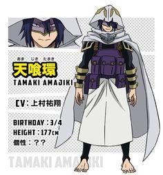 CHARACTER | TVアニメ『僕のヒーローアカデミア』 Boku No Academia, My Hero Academia 2, Hero Academia Characters, Anime Characters, Character Bio, Character Sheet, Character Design, Tamaki, Handsome Anime Guys