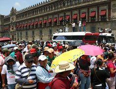 Siete manifestaciones afectarán la vialidad en la Ciudad de México