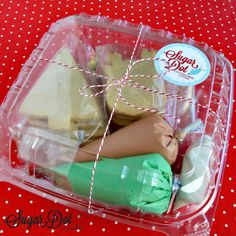 Order a Cookie Decorating Kit. Everything is included to decorate sugar cookies with your family. Cookie Box, Cookie Gifts, Food Gifts, Christmas Desserts, Christmas Baking, Christmas Cookies, Iced Cookies, Sugar Cookies, Cookie Decorating Party