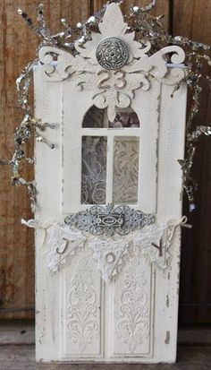 White Christmas Door & 1000+ images about Cards--MB--Doors on Pinterest | Screen doors ... Pezcame.Com