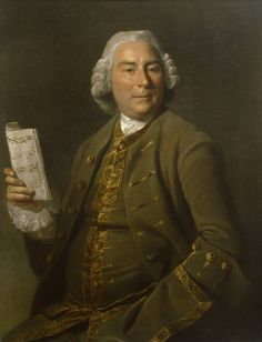 Zoffany, Portrat of Stephen Rimbault, 1764. Oil paint on canvas. Tate.