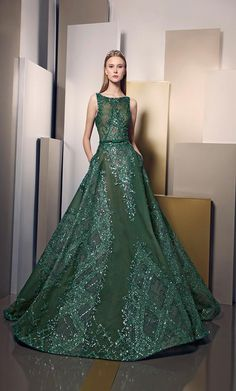Elegance And Brilliance Through New Ziad Nakad Summer 2016 Dress Collection Beautiful Gowns, Beautiful Outfits, Elegant Dresses, Pretty Dresses, Fancy Gowns, Luxury Dress, Designer Gowns, Couture Dresses, Bridal Dresses