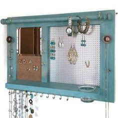 11 DIY Necklace Storage Ideas Shelves Necklace storage and Diy