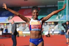 Dina Asher-Smith is bidding to be the first British woman to break the barrier for the Female Athletes, Women Athletes, Paralympic Athletes, Dina Asher Smith, Anniversary Games, Track And Field, Athletic Women, Sports Women, Birmingham
