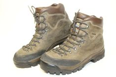 6f5fd1eb750 Zamberlan Italy Made Mens 10 45 Leather Hiking Trail Mountaineering Boots   fashion  clothing
