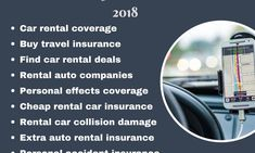 10 Reasons to buy rental Car Insurance in 2018 Low Car Insurance, Car Rental Deals, Auto News, Vacation Trips, Money, Cars, Silver, Autos