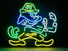 Notre Dame Fighting Irish Beer Bar Real Glass by NeonLightSign, $90.00