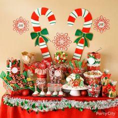 Christmas Dessert Bar ~ Party City
