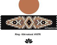 peyote ring patternPDF-Download 125R beading pattern