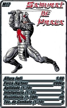 Samurai de Prata ( Silver Samuray)