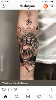 66 badass tattoo ideas that you really want to try Awesome Tattoos Lotusblume Tattoo, Tattoos 3d, Chakra Tattoo, Badass Tattoos, Forearm Tattoos, Body Art Tattoos, Hand Tattoos, Sleeve Tattoos, Tattoos For Guys