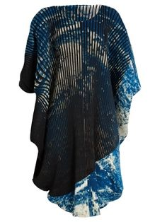 Issey Miyake Earth pleated dress