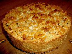 Leckere Rezepte: Apfelkuchen mit Mandeldecke