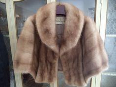 Vintage Blond Genuine Mink Fur Stole size XL by TimelessTrezzure