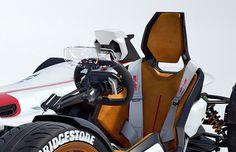 RocketGarage Cafe Racer: Honda Project 2&4 Concept