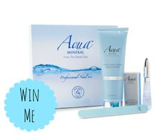 Win an Aqua Mineral Ireland Professional Nail Kit  ♥ http://www.dollydowsie.com/2014/03/aqua-mineral-ireland-professional-nail.html