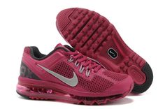 Air Max 2013 Running Shoes red purple women