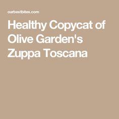 Healthy Copycat of Olive Garden's Zuppa Toscana