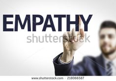 Business man pointing to transparent board with text: Empathy - stock photo Emotional Intelligence, Royalty Free Stock Photos, Business, Board, Pictures, Image, Photos, Photo Illustration, Sign