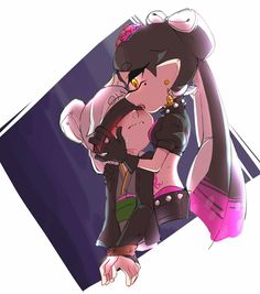 Safebooru is a anime and manga picture search engine, images are being updated hourly. Pokemon, Splatoon Squid Sisters, Callie And Marie, Nintendo, Splatoon Comics, Multicolored Hair, Video Games Girls, Stars At Night, Japanese Outfits