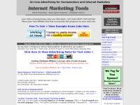 Homeworkers and Affiliate Marketers : On-Line Advertising Solutions