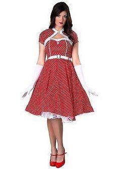1950s Sweetheart Dress