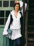 Burda Style: Plus - Kleider & Tuniken - Tuniken - Tunika - Rüschen, Spitze