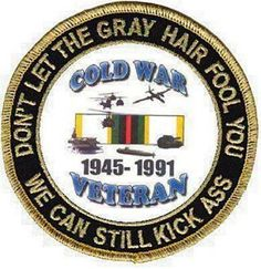 Cold War veteran here