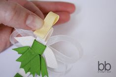 So who's excited about these Tinkerbell instructions?! I really think you guys are going to like these. I will admit that ribbon art is de...
