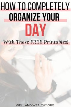 This free printable daily planner with time slots has changed my life! Schedule Printable, Daily Planner Printable, Planner Template, Free Printables, Time Management Techniques, Time Management Tools, Time Management Strategies, Cute Daily Planner, Types Of Planners