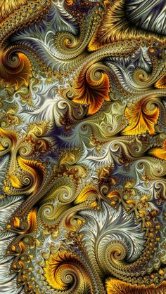 Fractal artist unknown - Best of Wallpapers for Andriod and ios Illusion Kunst, Illusion Art, Fractal Design, Fractal Images, Fractal Art, Fractal Geometry, Psychedelic Art, Wallpaper Backgrounds, Wallpapers