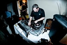 Absolute DJS - DJ Absolute at work at a Capilano Wedding Reception.