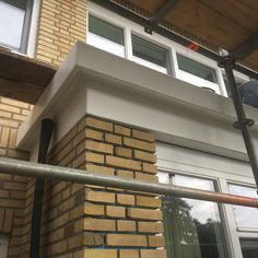 Linkerzijde composiet dak