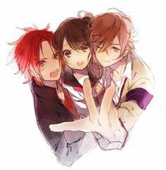 brothers conflict yusuke y futo <3