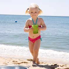 Refreshing ways to enjoy the summer sun and shore without taking along the entire toy closet.