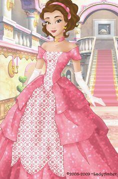 Belle deluxe gown by LadyAmber.deviantart.com on @deviantART
