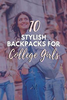 Can't decide on a college bag this semester? Here are 10 stylish backpacks for college girls! College Freshman Tips, First Year Of College, Going Back To College, Scholarships For College, College Hacks, College Girls, College Life, Espn College, College Backpack Essentials